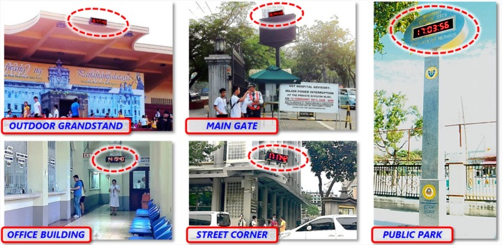 Photos of actual SyncRight Philippine Standard Time Clock Installations (Part 1)