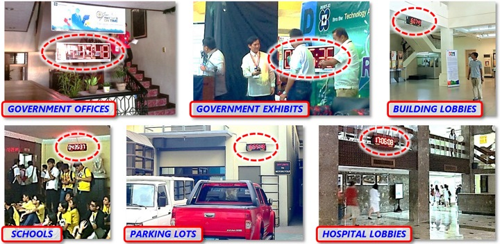Photos of actual SyncRight Philippine Standard Time Clock Installations (Part 2)